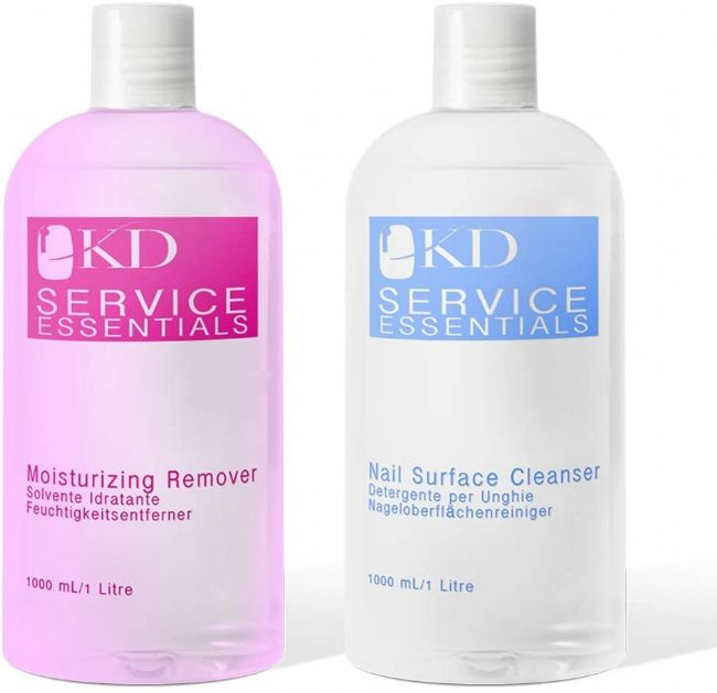 KD Professional Gel Nourishing Remover & Nail Cleanser 2 x 1000ml